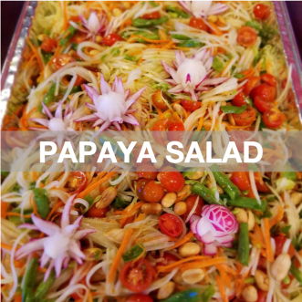Green Papaya Salad: Popular Menu
